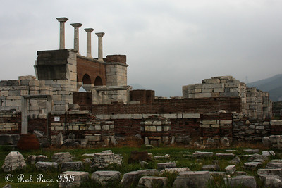 Basilica of St. John - Selcuk, Turkey ... March 6, 2011 ... Photo by Rob Page III