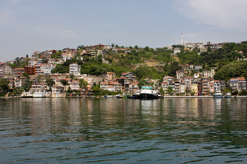 Ferry Boat tour back to Istanbul down the Bosphorous