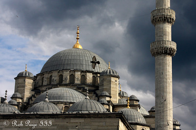 The Yeni Camii - Istanbul, Turkey ... March 4, 2011 ... Photo by Rob Page III