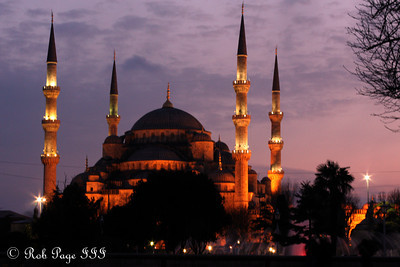 The Sultan Ahmed Mosque (Blue Mosque) - Istanbul, Turkey ... March 3, 2011 ... Photo by Rob Page III