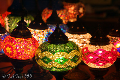 Turkish lamps - Göreme, Turkey ... March 9, 2011 ... Photo by Rob Page III
