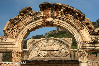 The Temple of Hadrian - Ephesus, Turkey ... March 5, 2011 ... Photo by Rob Page III