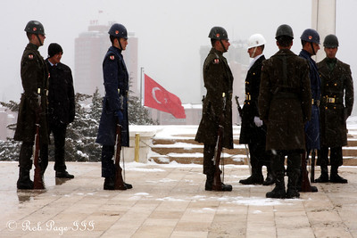 The changing of the guard at Anitkabir - Ankara, Turkey ... March 7, 2011 ... Photo by Rob Page III