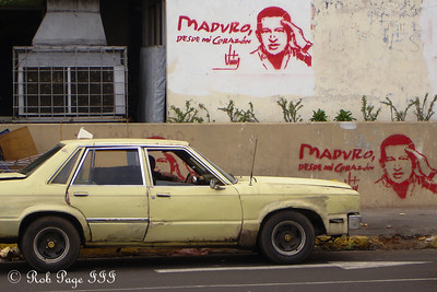 The city streets - Maracaibo, Venezuela ... August 11, 2013 ... Photo by Rob Page III
