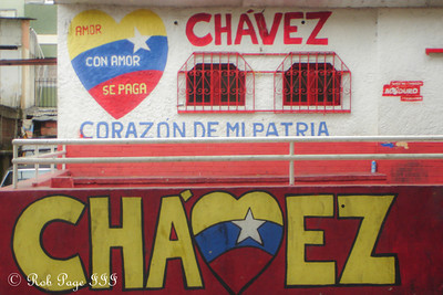 Political advertisement - Caracas, Venezuela ... August 12, 2013 ... Photo by Rob Page III