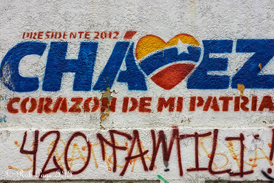 Political advertisements - Caracas, Venezuela ... August 12, 2013 ... Photo by Rob Page III