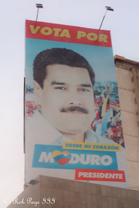 Vote for Maduro? - Maracaibo, Venezuela ... August 11, 2013 ... Photo by Rob Page III