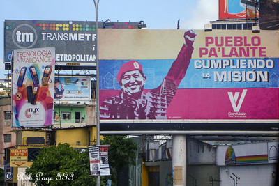 Political advertisements - Caracas, Venezuela ... August 13, 2013 ... Photo by Rob Page III