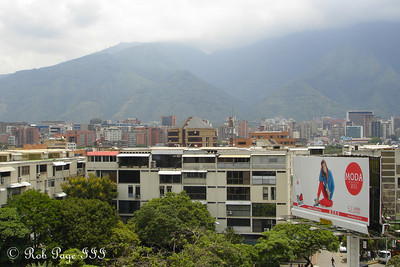 Looking out over the city from the Tamanaco, Inter-Continental Hotel - Caracas, Venezuela ... August 8, 2013 ... Photo by Rob Page III
