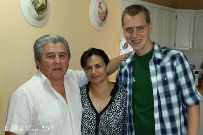Meeting Carlos' parents - Portoviejo, Ecuador ... August 17, 2013
