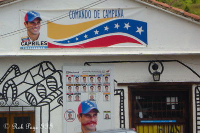 A Capriles political advertisement - Caracas, Venezuela ... August 12, 2013 ... Photo by Rob Page III