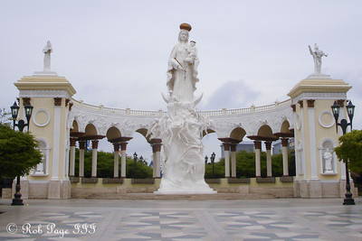 The Monument to Our Lady of Chiquinquirá - Maracaibo, Venezuela ... August 11, 2013 ... Photo by Rob Page III