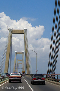 Driving across the General Rafael Urdaneta Bridge - Maracaibo, Venezuela ... August 10, 2013 ... Photo by Rob Page III