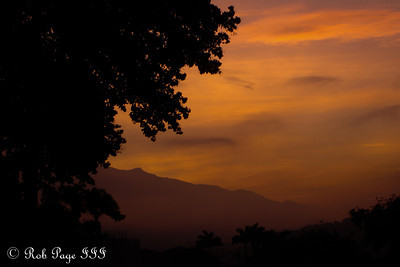 Sunrise from Pedro's house - Caracas, Venezuela ... August 9, 2013 ... Photo by Rob Page III
