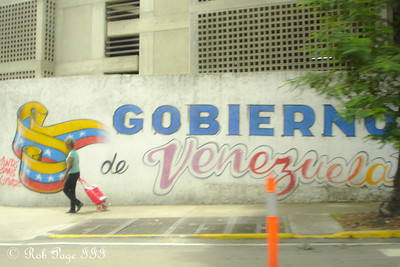 Politics, Venezuela style - Caracas, Venezuela ... August 12, 2013 ... Photo by Rob Page III