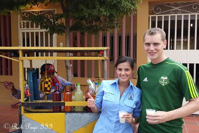 Getting ice cream- Maracaibo, Venezuela ... August 10, 2013