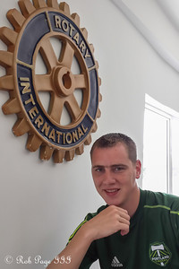 We found the local Rotary Club - Maracaibo, Venezuela ... August 10, 2013 ... Photo by Pedro Mendoza