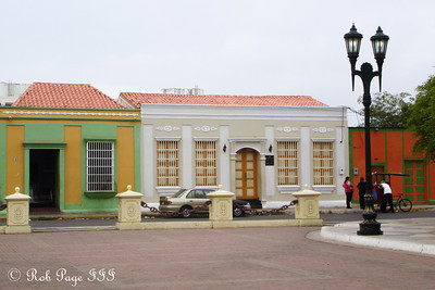The colonial center of the city - Maracaibo, Venezuela ... August 11, 2013 ... Photo by Rob Page III
