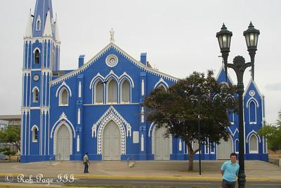 Santa Barbara Church - Maracaibo, Venezuela ... August 11, 2013 ... Photo by Rob Page III