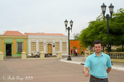 Pedro in the colonial center of the city - Maracaibo, Venezuela ... August 11, 2013 ... Photo by Rob Page III