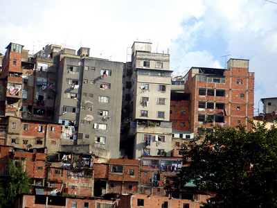 Some of the housing on the outskirts of the city - Caracas, Venezuela ... October 2, 2005 ... Photo by Rob Page III