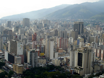 Caracas, Venezuela ... September 22, 2005 ... Photo by Rob Page III