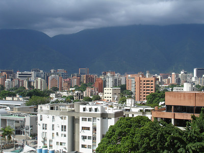 The view from the Tolon mall, a mall designed by Pedro's father - Caracas, Venezuela ... September 26, 2005 ... Photo by Rob Page III