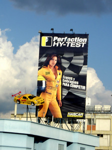 An advertisement - Caracas, Venezuela ... October 2, 2005 ... Photo by Rob Page III