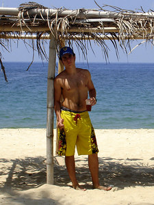 Enjoying the beach - Choroni, Venezuela ... September 24, 2005 ... Photo by Rob Page III