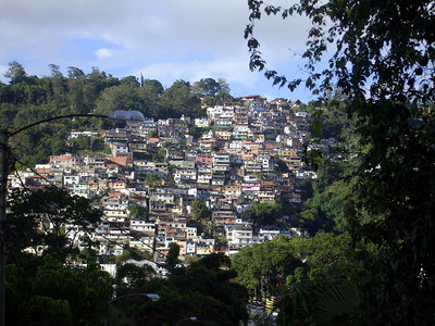 The barrio above El Hatillo - Caracas, Venezuela ... September 26, 2005 ... Photo by Rob Page III