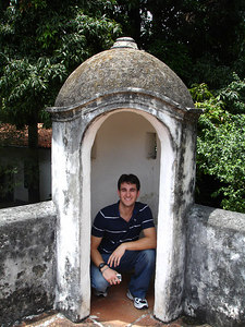 John the sentry at the Museo de Arte Colonial - Caracas Venezuela ... September 23, 2005 ... Photo by Rob Page III