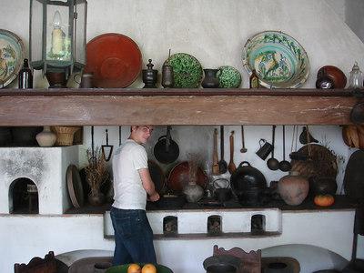 Cooking at the Museo de Arte Colonial - Caracas Venezuela ... September 23, 2005 ... Photo by John Reardon