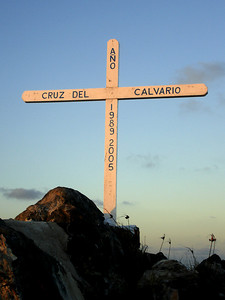 Cross - Los Roques, Venezuela ... September 30, 2005 ... Photo by Rob Page III