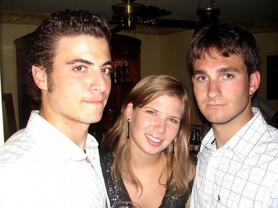 Pedro, Adriana, and John - Caracas, Venezuela ... September 29, 2005