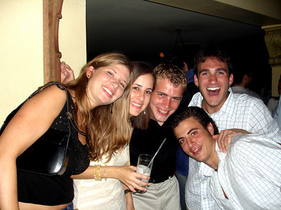 Celebrating John's birthday at Club Sabu - Caracas, Venezuela ... September 29, 2005