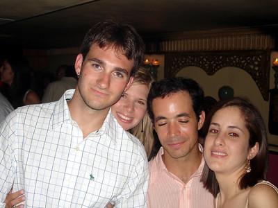 Alex fell asleep for the picture (John Adriana Alex and ???) - Caracas, Venezuela ... September 29, 2005