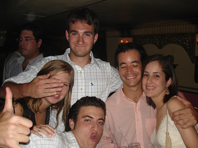 Happy birthday John (Adriana, John Alex, ???, Pedro) - Caracas, Venezuela ... September 29, 2005