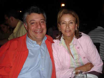 Mr. & Mrs. Mendoza - Caracas, Venezuela ... September 22, 2005 ... Photo by Rob Page III