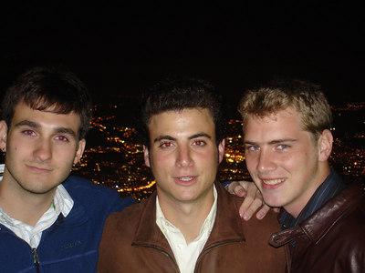 John, Pedro, and Rob on the top of El Avila - Caracas, Venezuela ... September 22, 2005 ... Photo by Rob Page III