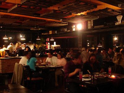 Dinner at the Fondue Restaurant on top of Avila - Caracas, Venezuela ... September 22, 2005 ... Photo by Rob Page III