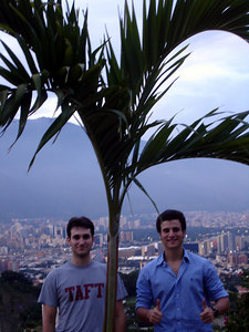 John and Pedro - Caracas, Venezuela ... September 22, 2005 ... Photo by Rob Page III