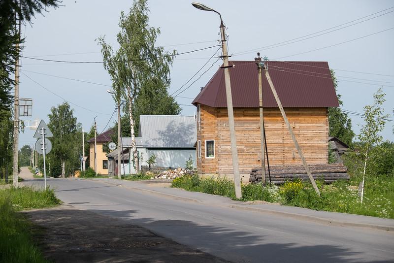 A small town, Kuzino, Russia.