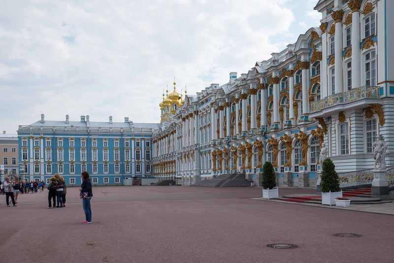 Catherine Palace in Saint Petersburg, Russia.