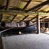 Loft storage of needed materials on Kizhi Island, Russia.