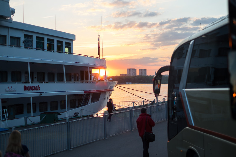 Viking Ingvar at port in Moscow