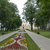 Church entrance in Uglich, Russia.