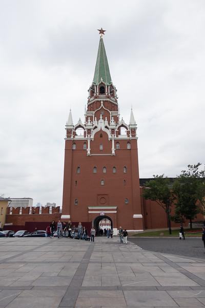 Let's go into the Kremlin
