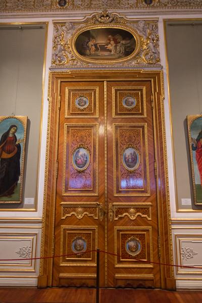 The Hermitage Museum in Saint Petersburg, Russia.