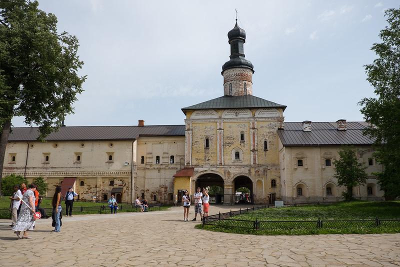 The Kirillo-Belozersky Monestary in Kuzino, Russia.