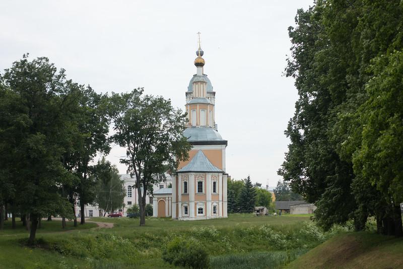 Church in Uglich, Russia.